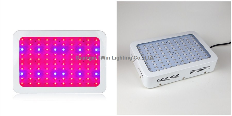 Hot Promotion!!! 300w led grow light full spectrum led plant grow light 100 leds x 3 w led hydroponic grow light for greenhouse