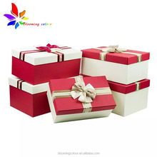 Custom luxury magnetic jewelry paper box with your own logo for gift