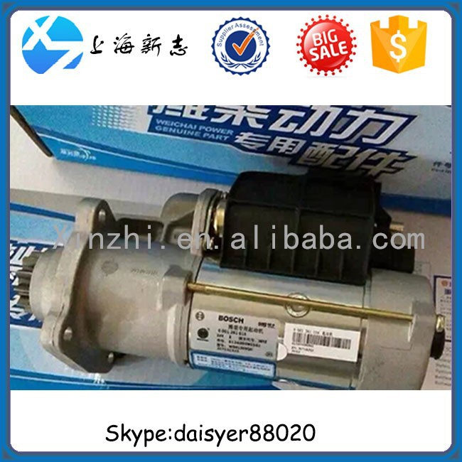 weichai power Special-purpose BOSCH starter motor 612600090561,0001261016