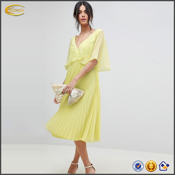 7253165bd52 OEM wholesale Women s Plus-Size Poncho and Tier Dress 2 Piece Set mother of  the
