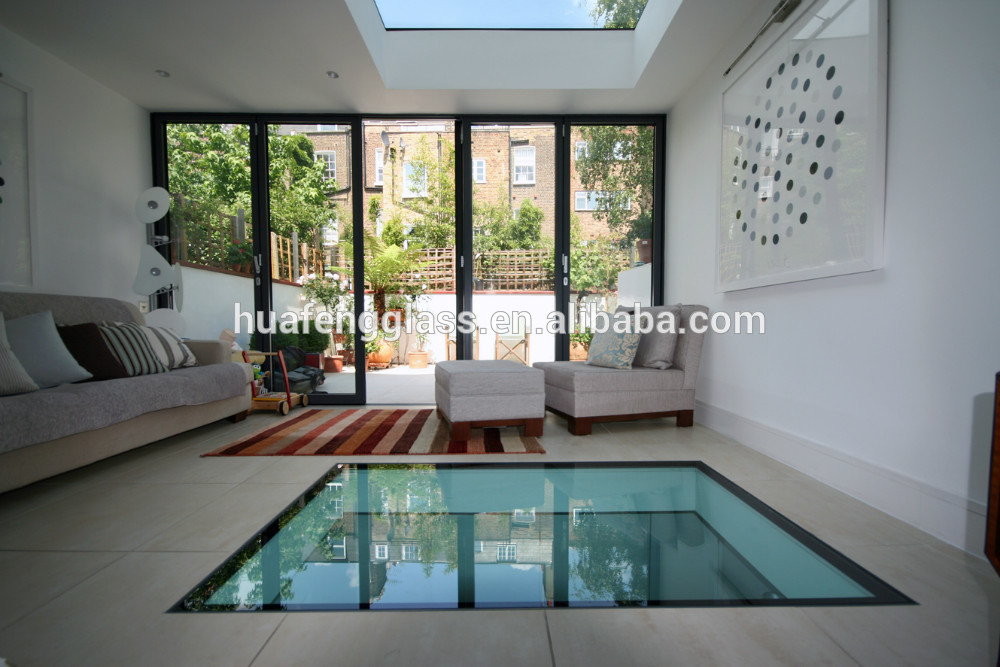 Estructural templado de vidrio laminado piso precio - Precio del vidrio ...