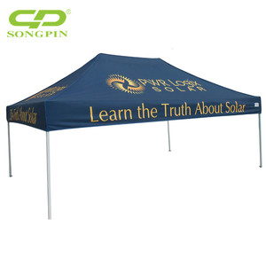 Aluminium or steel frame heavy duty outdoor pop up tent 3x3 3x4.5 3x6
