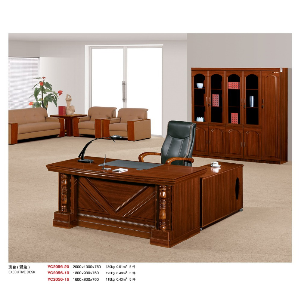 sell hdf wood office furniture front desk factory sell