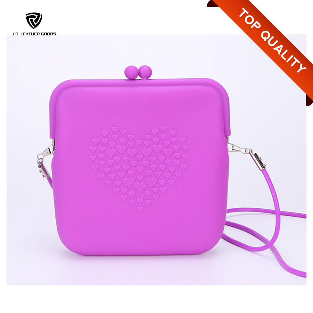 Promotional Custom Bag Silicone/Silicone Shoulder Bag/Silicone Rubber Bag