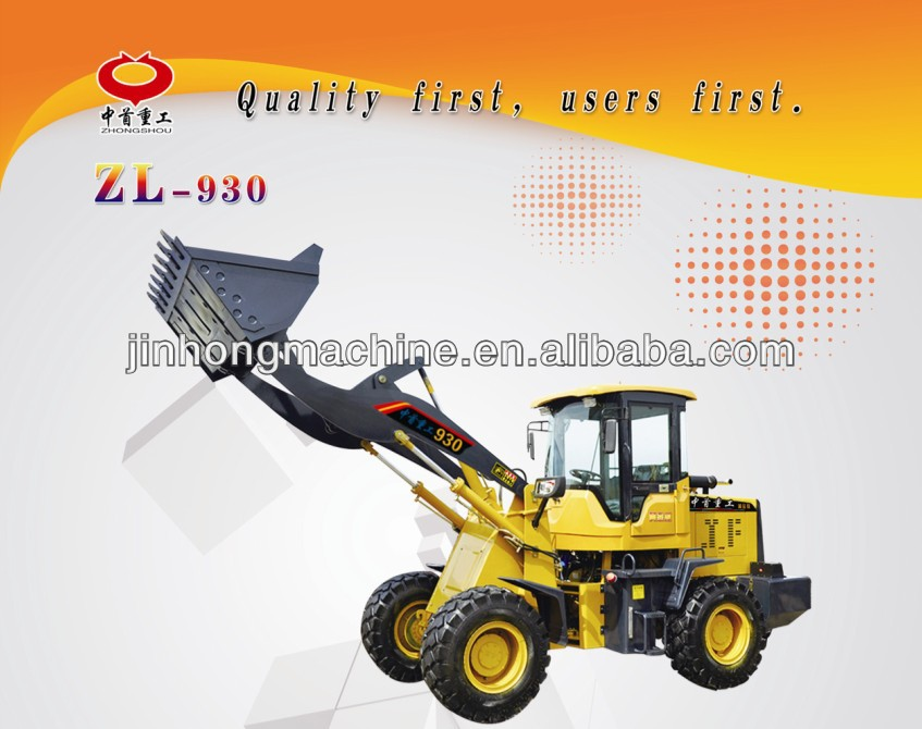 mini tractor 3 tons wheel loader ZL-930