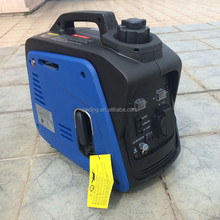 0.8kv small portable inverter generator, gas generator for camping used