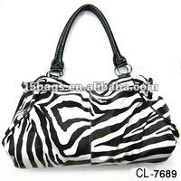 Fashion animal printing elegant women bag