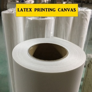 Printing Polyester Cotton Polycotton Canvas Specially Used for HP LATEX Printing