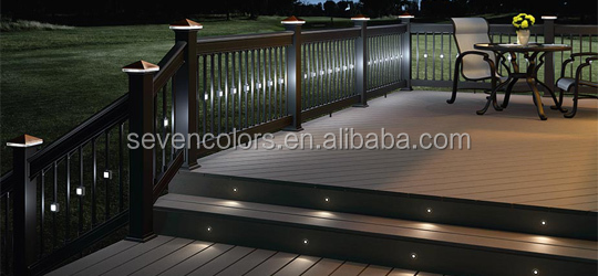 muti-color mini led decking kit stainless steel SC-F103
