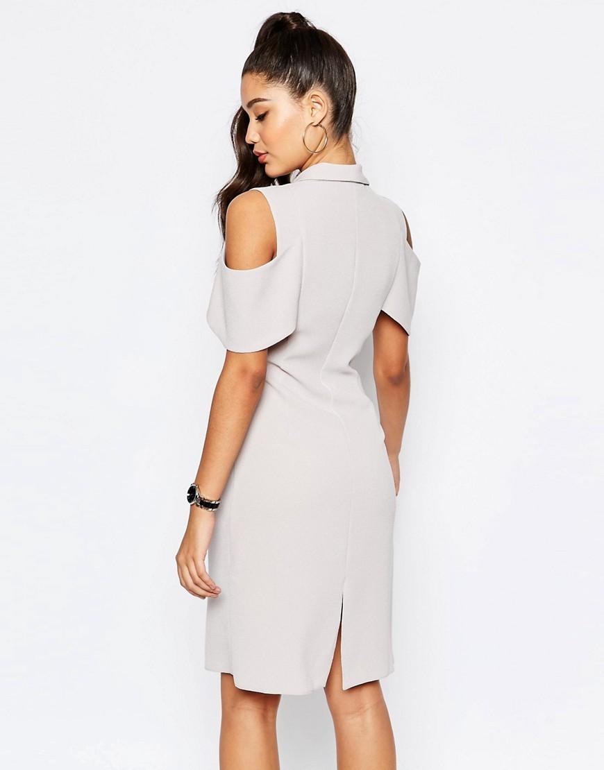 e78184edc57 2016 Summer Cold Shoulder Blazer Dress For Women - Buy Summer Dress ...