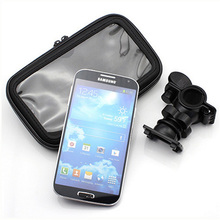 XL Size Phone GPS Bicycle Motorcyle Bike Handlebar Mount Holder Stand Waterproof Case for Samsung Mega5.8/6.3 Note4/5 T2 HTC MAX