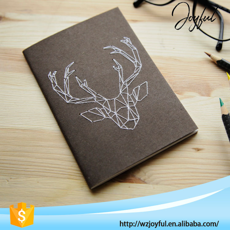 Wholesale Top Quality Hot Sale Custom Size Spring Leaf Notebook