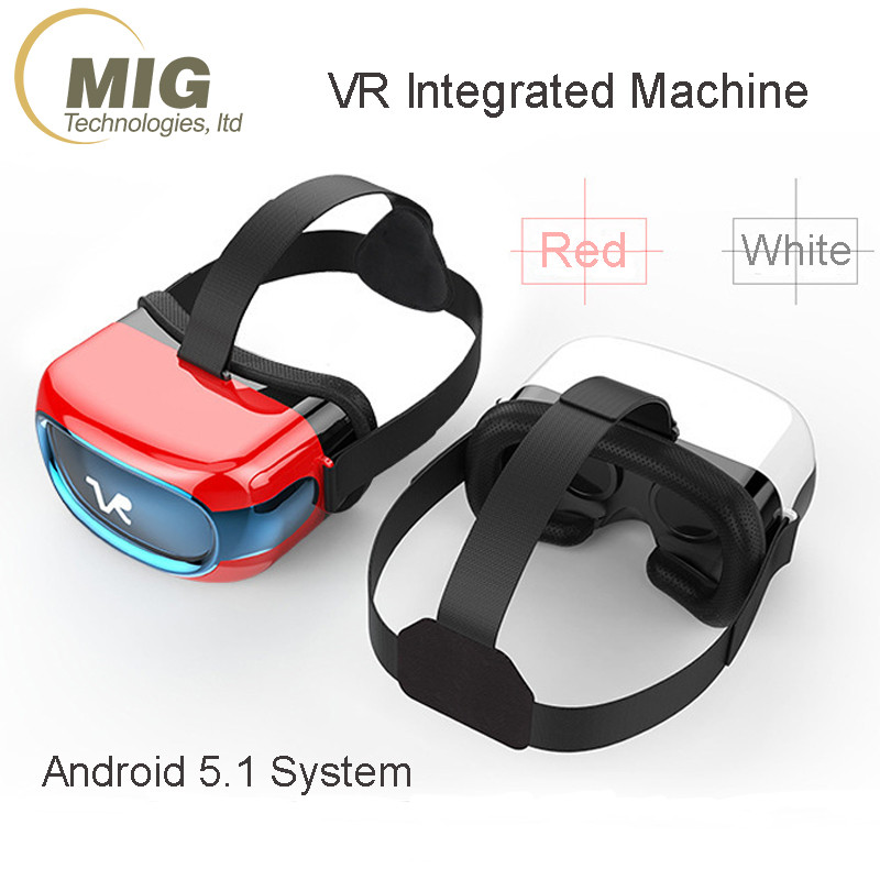 VR headset all in one VR BOX 3D virtual reality glasses best integrated machine support wifi
