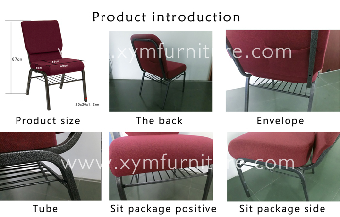 Good quality used church chairs on sale