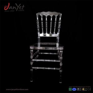 Luxury Party Transparent Folding Chair Napoleon