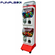 Promotional Arcade Coin Operated Capsule Toy Gashapon Vending Machine