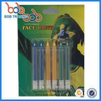 Brazil face paint distributor drawing set