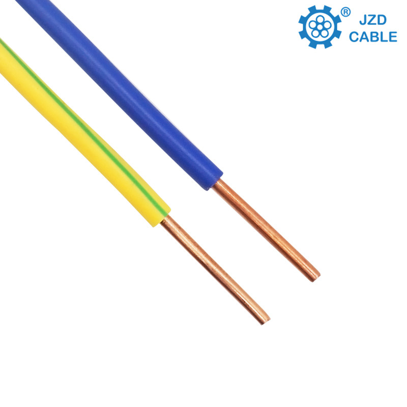 1.5/2.5/4/6mm2 Single Copper core PVC insulated electric cable <strong>wire</strong>
