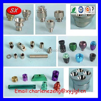 ISO / CE / ROHS precision machinery parts Customized small metal smoking pipes parts / Pipe Fittings