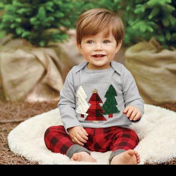 783edd382 Phb50417 Check Pant Sets Fashion Baby Boys Christmas Clothes - Buy ...