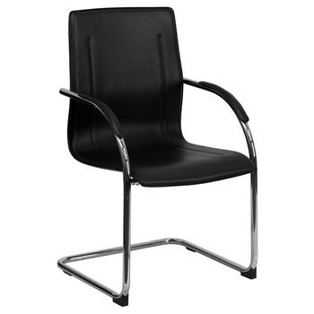 High Back Office Guest Chair Without Wheels