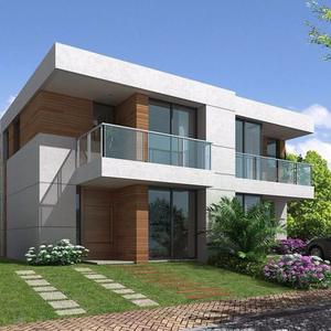 modern steel snow load moisture roof light frame modular prefabricated house