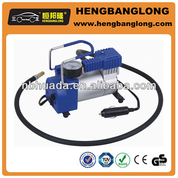 12V metal air compressor dc 12v car tire pump