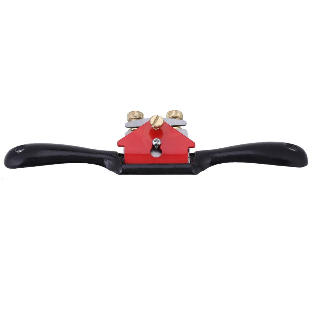 9 Inch Adjustment Woodworking Cutting Edge Plane Spokeshave Hand Trimming Tool with Screw Manual Planer Hand Tool