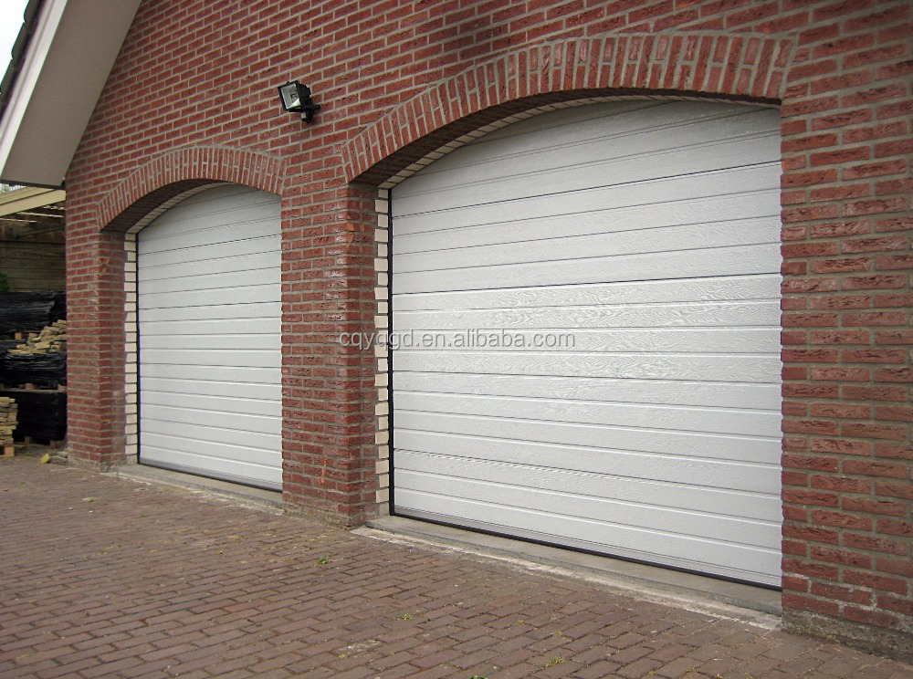Sectional Garage Doors Product : Folding overhead finger protection sectional garage door
