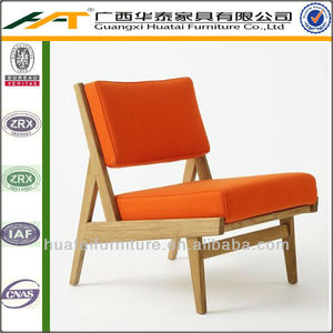 Solid wood fabric/PU leather /real leather hotel coffee chair furniture leisure coffee chair OAK coffee chair in furniture
