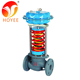 Self regulating automatic flow pressure reducing control valve for steam
