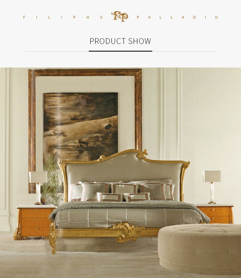 Mild Luxury French Style Bedroom Furniture Set French Antique Bed Light  Brown Bedstand With Marble Top - Buy One Bed With Two Bedstand,Antique ...