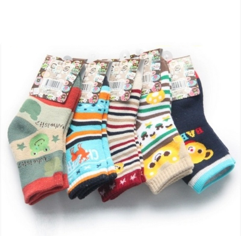 3-7 years old baby boys socks  cute cartoon boys children's socks kids sport baby boy socks 10pec=5pairs/1lot