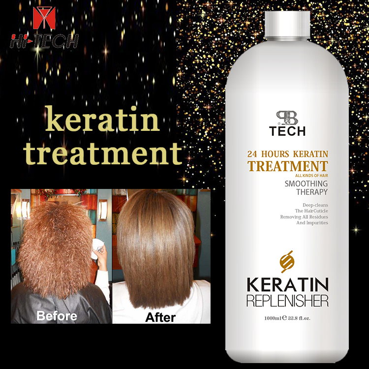 beauty products tail fork hair protein keratin product smoothing Brazilian keratin treatment