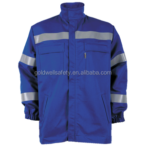 Fleece safety winter 3M reflective work uniform jacket