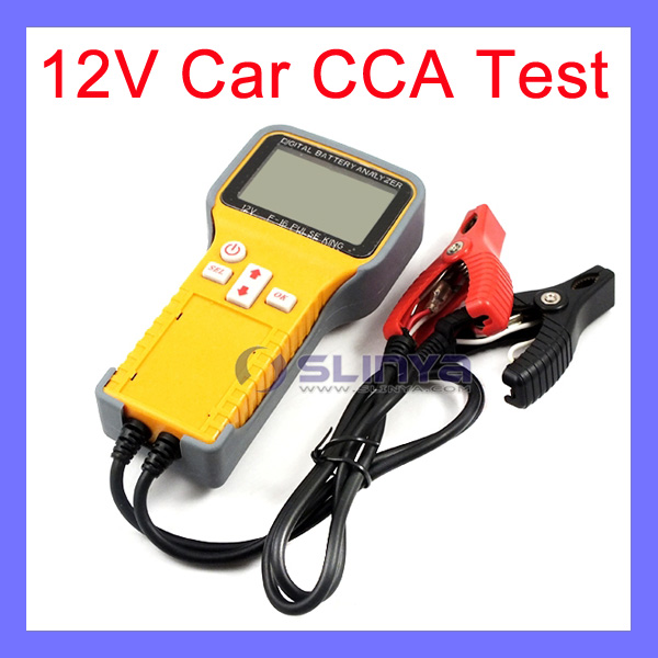 36 Degree Clip 48cm Cable Car CCA Test Car Battery Voltage Tester