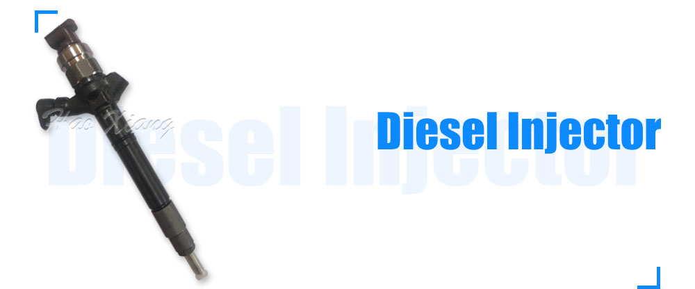 Good Quality Common Rail Injector / Diesel Injector OEM: 095000-7710 / 095000-9730