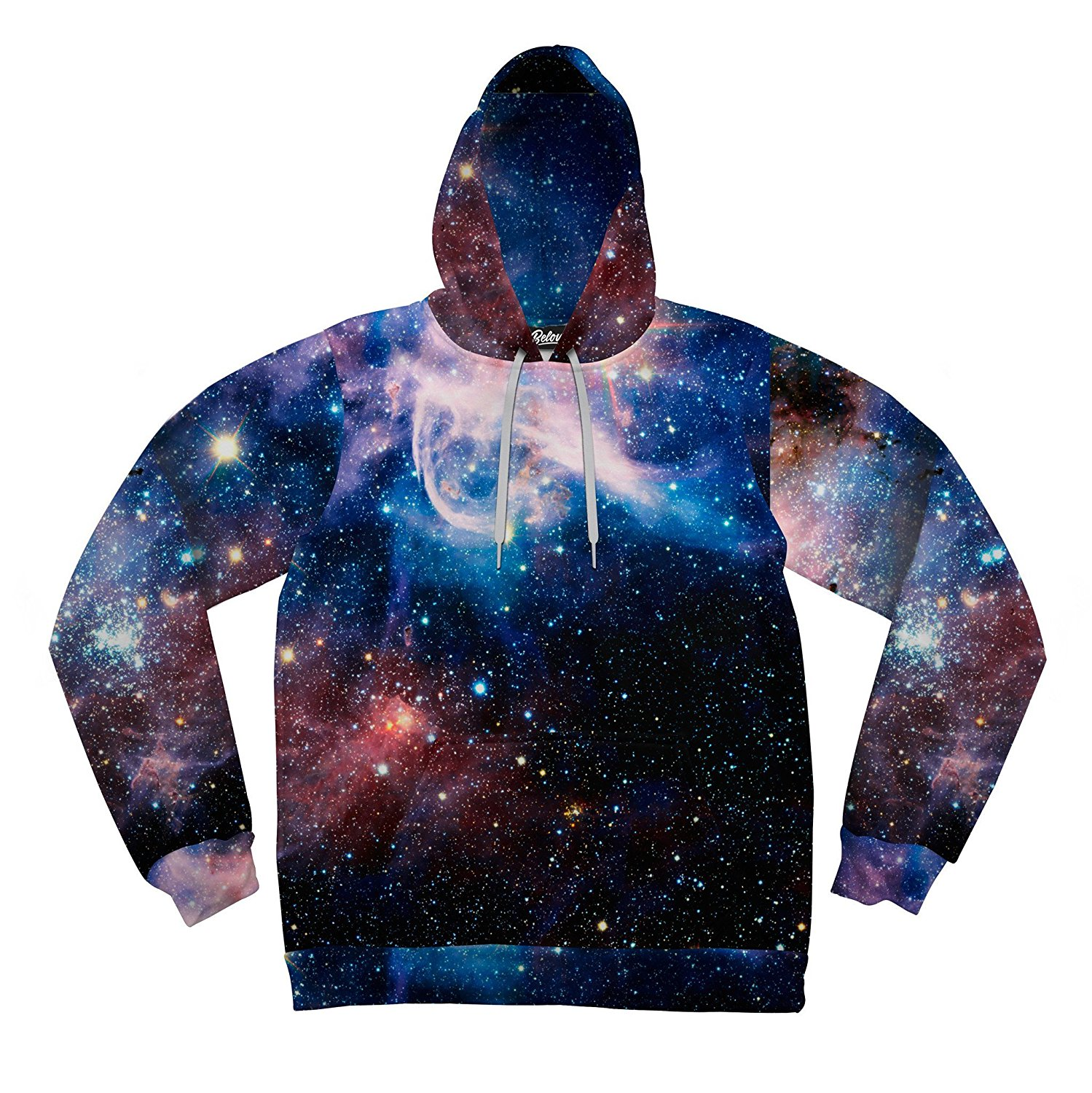 Beloved Shirts Lush Galaxy Hoodie - Premium All Over Print - Ready to Ship