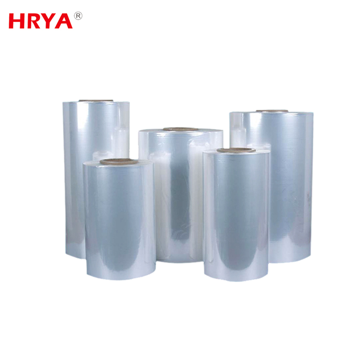 0.012-0.08 mm Conventional Thickness pe/pvc shrink film roll bopp film
