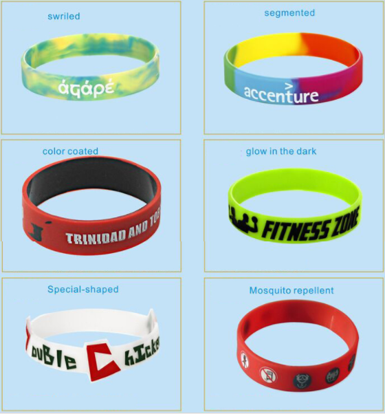 custom silk print debossed embossed rubber silicone bracelet with logo print engrave ink filled silicone wristband