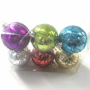 Wholesale 40MM to 100MM clear plastic balls Christmas ornaments