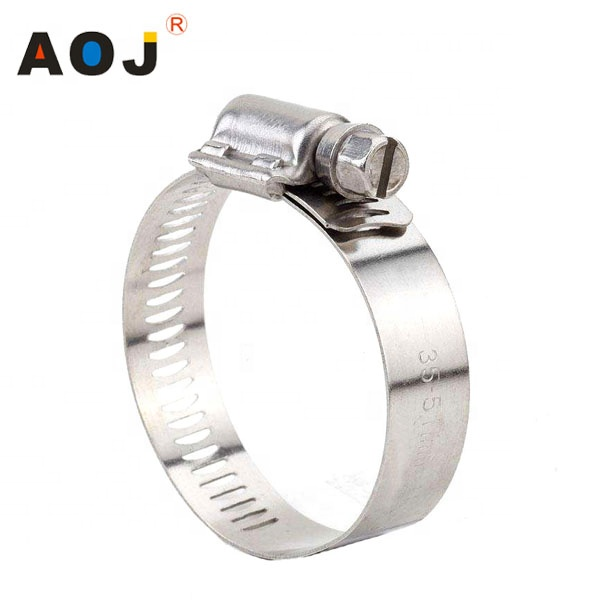 American style hose clamp 12.7mm, American 웜 형 Clamp