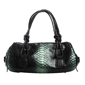 Vintage Premium Genuine Python Skin Ladies' Designer Evening Handbag