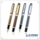 Luxury cap-off golden metal pen set