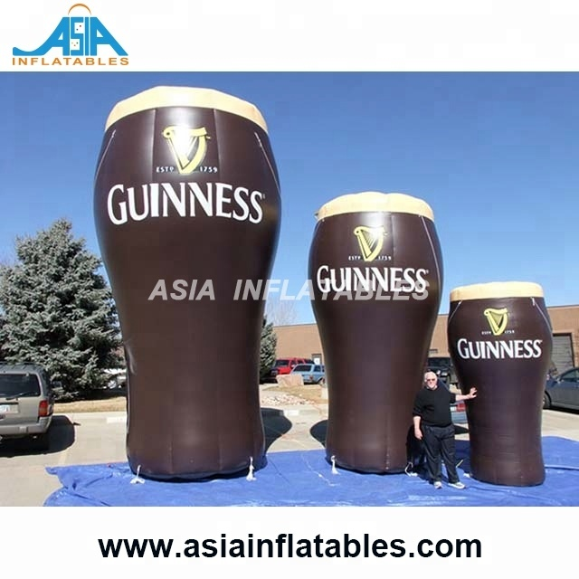 Able Personalized 20 Feet High Inflatable Wine Glass Giant Inflatable Beer Glass For Decoration Toys Inflatable Beer Glass