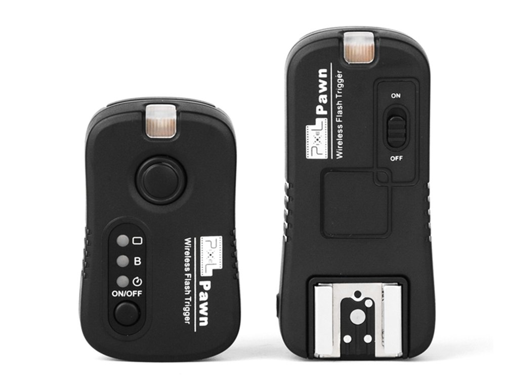 Pixel TF-362 2.4G 100M Wireless Flash Trigger Nikon Speedlite Multi-purpose Wireless Flash Grouping(With Wireless Shutter Remote Control Function)