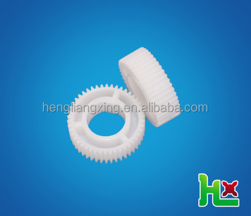 Plastic pinion gear with D-Shape hole