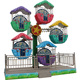 fiberglass electric sightseeing carnival rides manufacturers kids mini ferris wheel for sale used