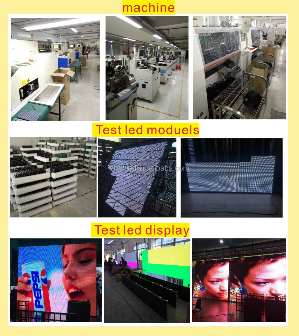 Outdoor P6 led rental screen for advertising