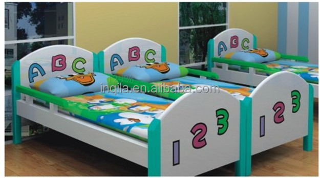 New design high quality ABC baby wood bed